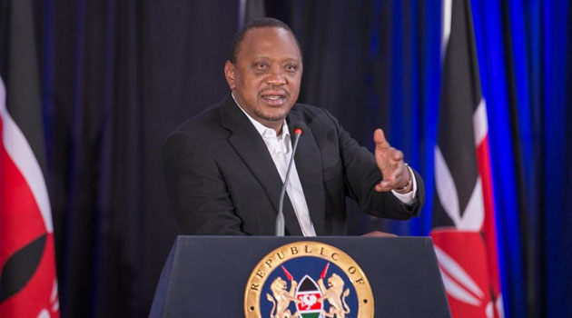 Uhuru reiterates his call for peace a head of Tuesday elections