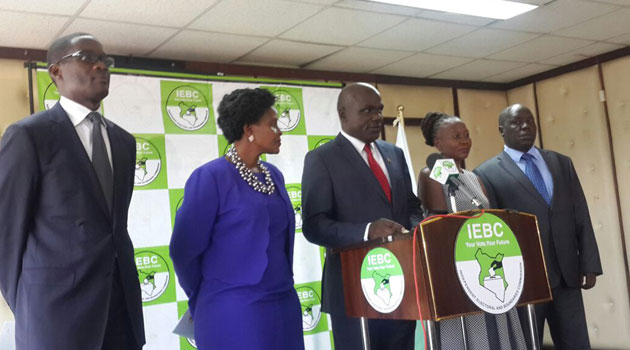 Names of 8 Presidential aspirants to give IEBC their papers published