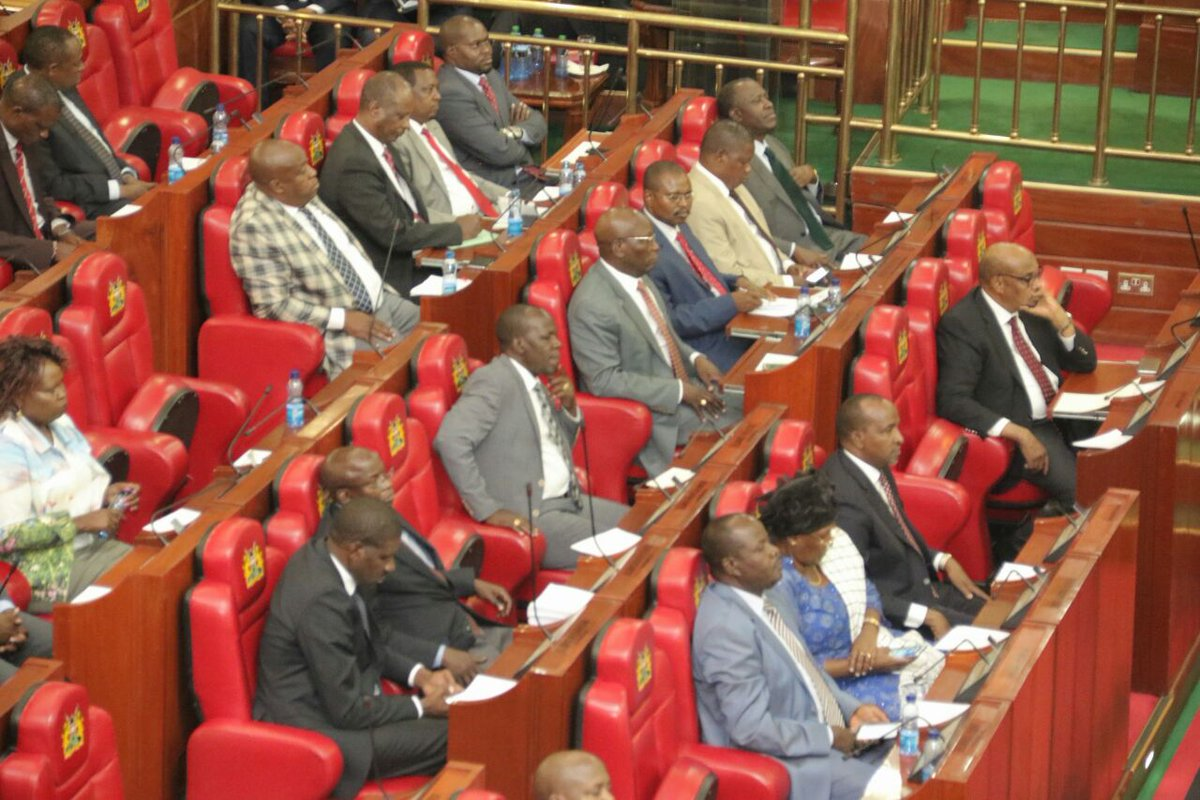 A new report lists Senator Gideon Moi among silent MPs in Parliament