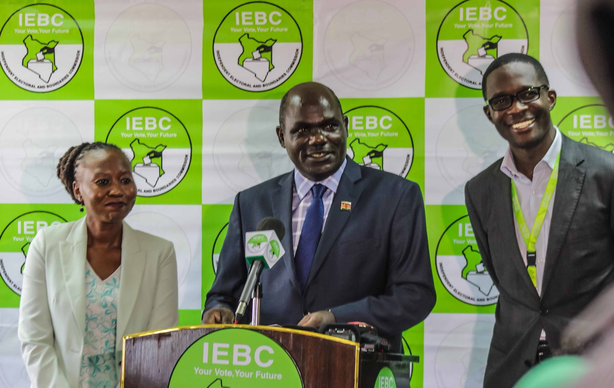 All Presidential candidates to begin submitting names of  2,000 supporters to IEBC  from Thursday
