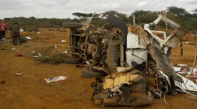 5 police officers killed  after IED attack on Mandera Governor Roba's convoy