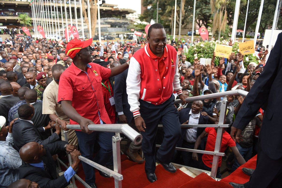 New research findings by Ipsos shows Kenyatta and Odinga back to back