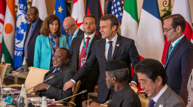 Expand engagement platform with the African Nations to fight terrorism,poverty Uhuru urges G7