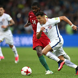 Chile beats Portugal 3-0 to sail through to the  finals of Confederations cup