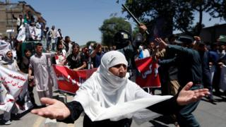 Kabul blast: Deadly explosion at protest victim's funeral