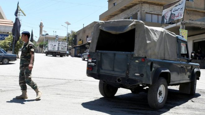 Lebanon refugee camps hit by five suicide bombers