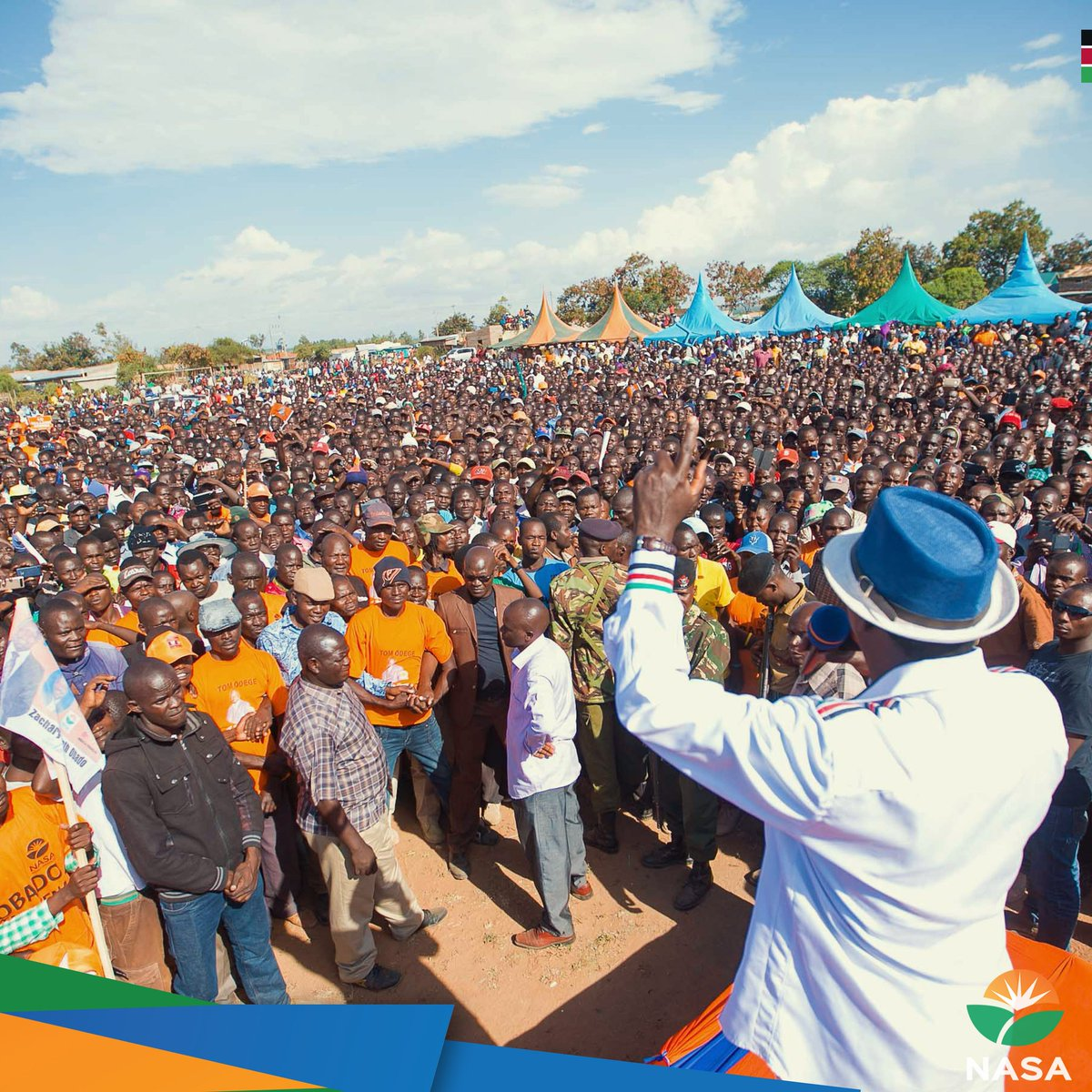 NASA takes campaigns in Migori  county promises to deliver the kenyan dream