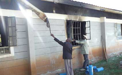 Investigations into the cause of fire  at Kilgoris girls commence