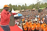 You have ruined the country's economy,Odinga tells Jubilee as he takes NASA campaigns to Busia