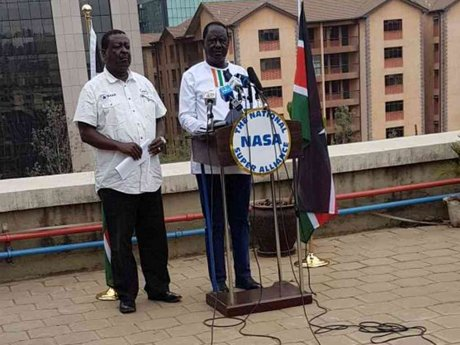 Raila warns of a plot to use the military in rigging the August pols