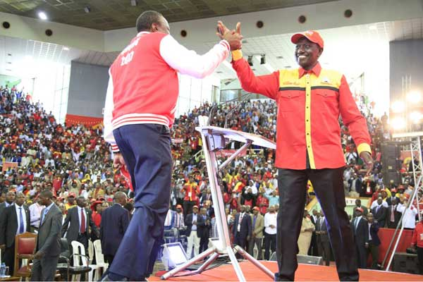 It is all systems go as Jubilee launches manifesto