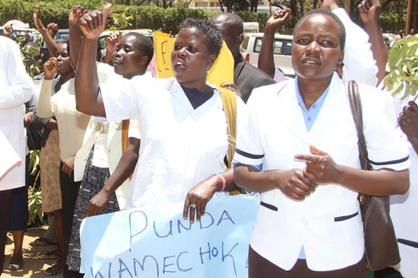 How can we bury our heads in the sand and ignore the nurses strike?