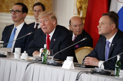 Trump to say Western civilisation is at stake in Warsaw speech