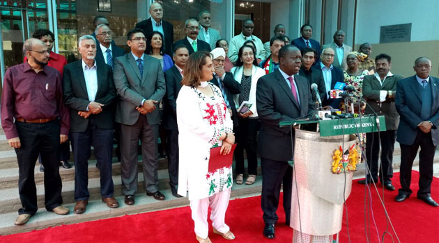 Kenya has a 44th tribe as   Asians are  formally recognized