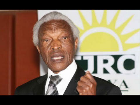 Former  TJRC chair the late Bethuel Kiplagat to be laid to rest