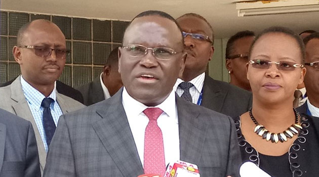 Mailu asks food handlers  to maintain  high standards of hygiene to keep cholera in check