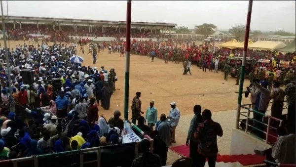 Jubilee party  rally in Mandera disrupted  after chaos erupts