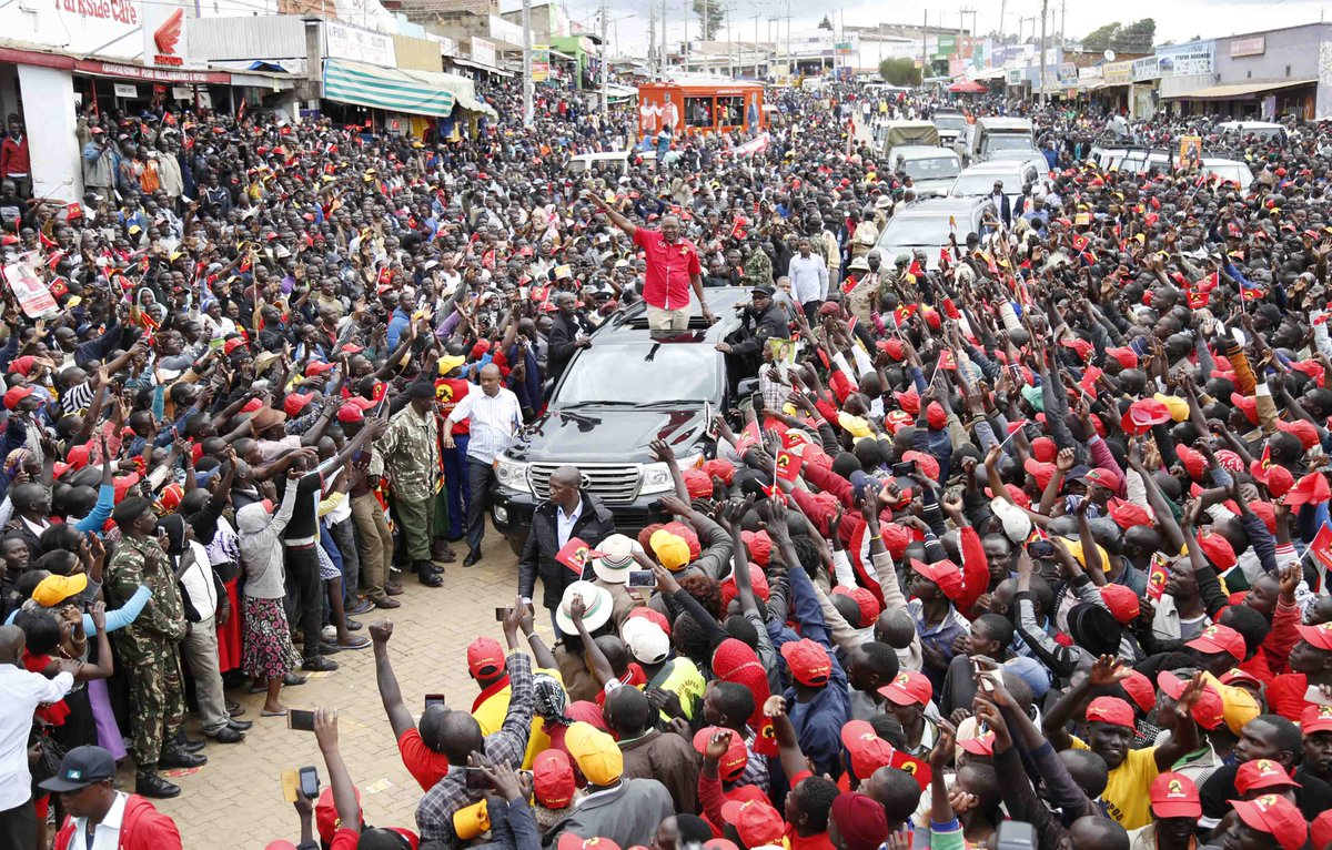 President Kenyatta urges Busia to vote for Jubilee,Opposition has nothing new to offer.