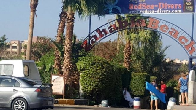 Egypt Hurghada stabbing: Two tourists killed at Red Sea resort