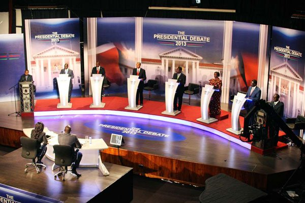 Odinga pulls out of presidential debate,moments after Kenyatta