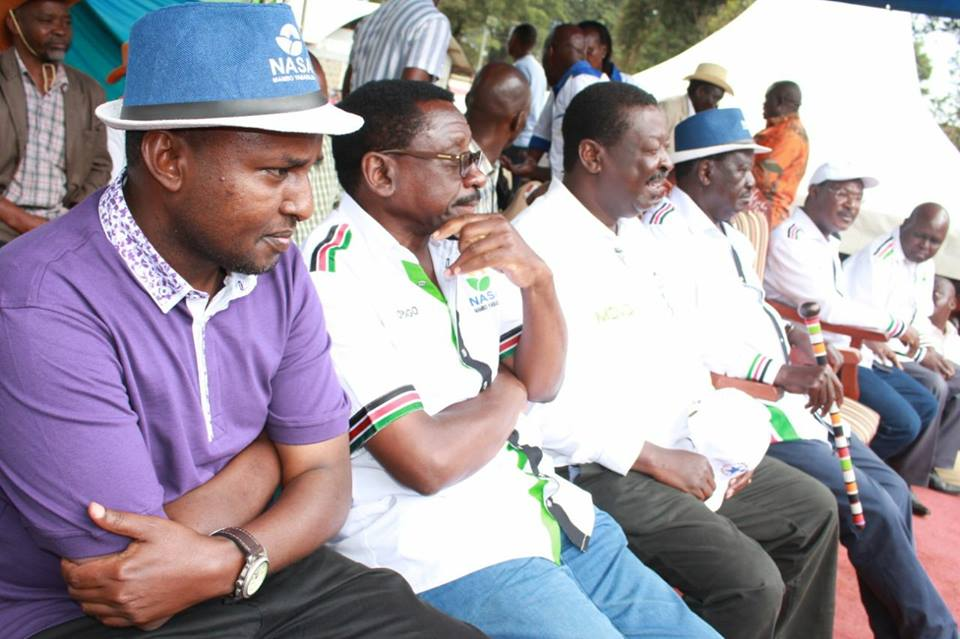 NASA campaigns In Kericho,urges residents to vote for them for genuine and tangible change