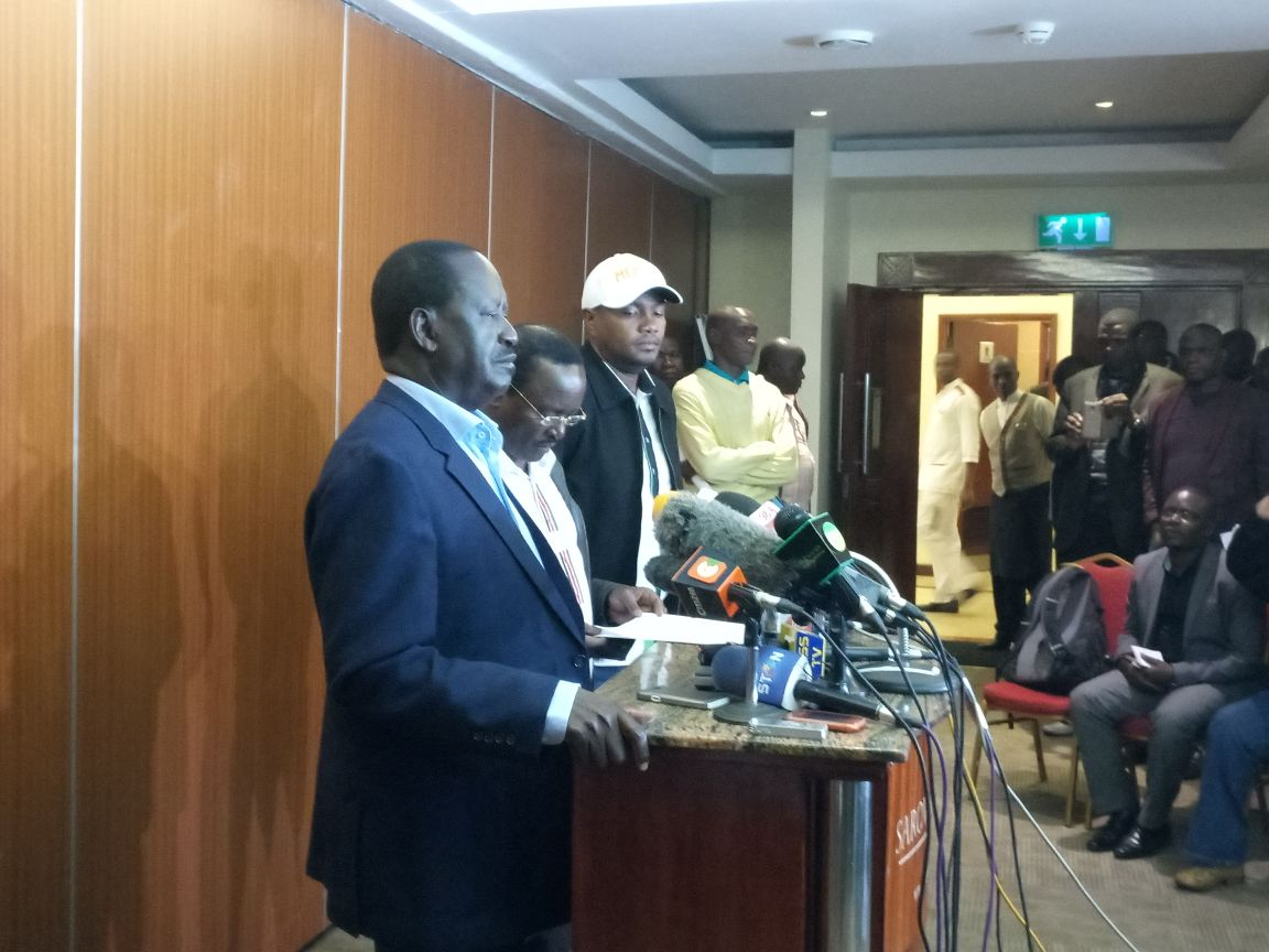 NASA insists there was a scheme by Jubilee to rigg elections by the help of the military,says they will not accept  it .