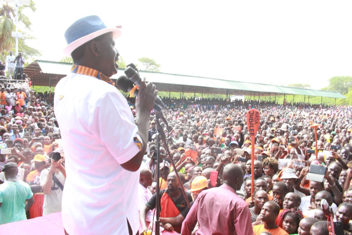 We have no apologies over our statement on intended scheme to use the military in rigging elections-ODINGA