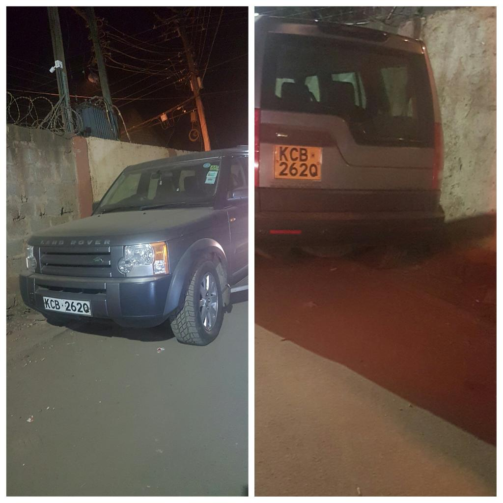 The search for missing  IEBC's ICT manager  Chris msando  intensify as  his Vehicle is found in Rosambu in  Nairobi