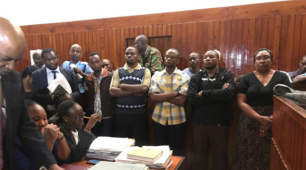 St Augustine's Principal 4 others charged over boy's death,released on a Sh1 million bond.