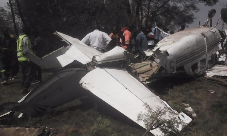 NASA wishes quick recovery to journalists who got injured  in Langata  plane crash