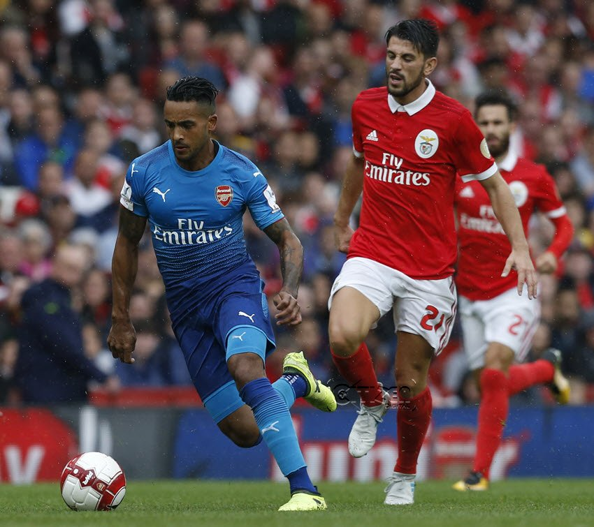 Arsenal too strong for Benfica as it records 5-2 in emirates cup encounter