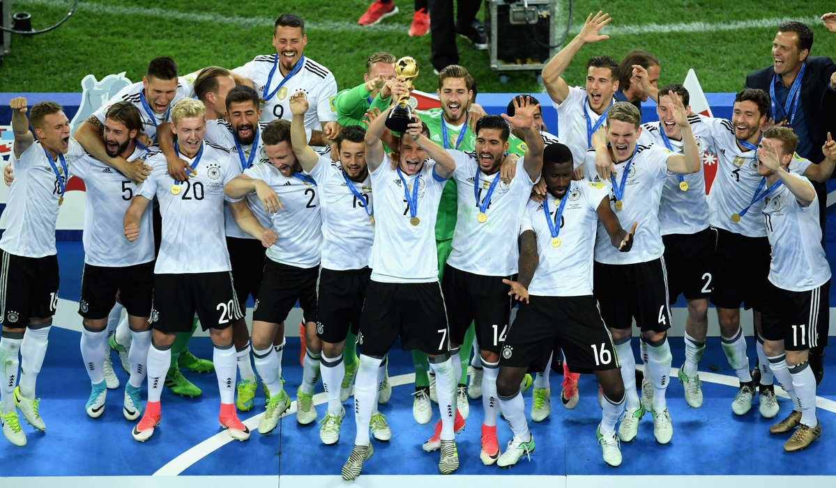 Germany Beat Chile 1-0 to clinch Confed cup title