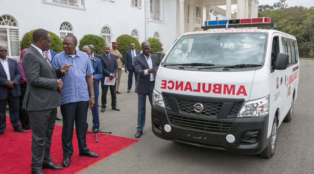 Seven counties receive ambulances bought with recovered chicken scandal cash