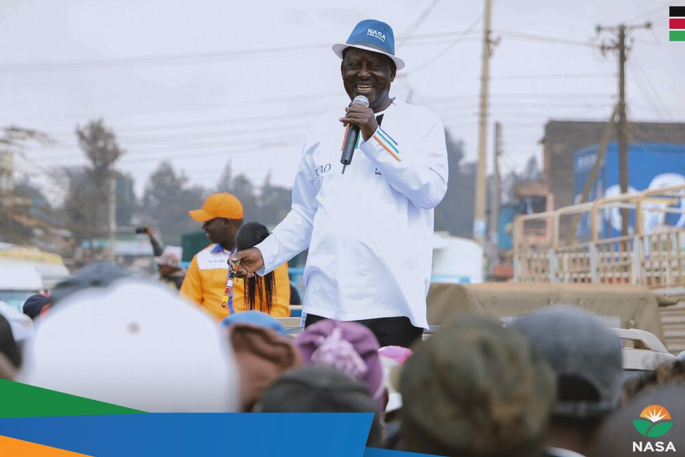 NASA rally ends prematurely in Thika as  Jubilee supporters  clash with those of opposition