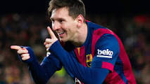 Lionel Messi signs contract extending  his stay at  Barcelona  until 2021