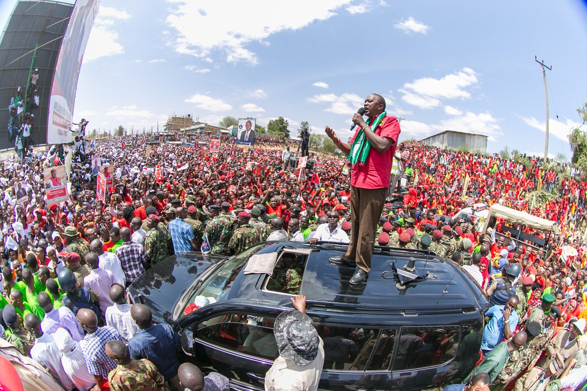 Jubilee takes its campaign to Busia as Nasa goes for Turkana