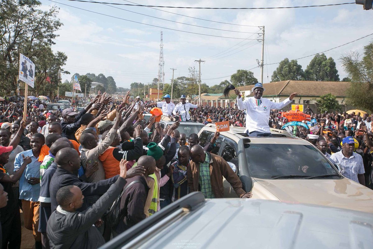 Nasa takes campaigns to Eldoret  asks IEBC to respect law that requires presidential elections results declared at Constituency level