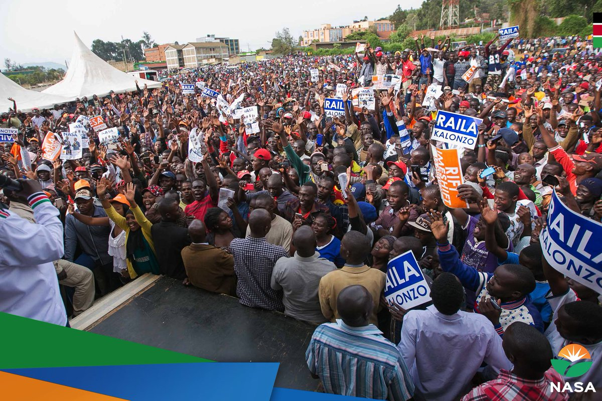 NASA  Principals put  on brave face to proceed with their campaigns  in Baringo  despite disruption