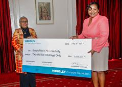 WRIGLEY COMPANY FOUNDATION RESPONDS TO NATIONWIDE APPEAL WITH KSH 2 MILLION DONATION