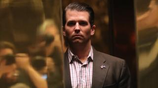 Email 'linked Kremlin to Trump son meeting' – New York Times