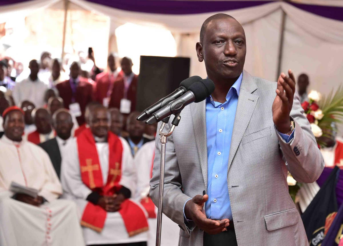 It was all meant to cause tension ,DP Ruto speaks on attack on his Sugoi home
