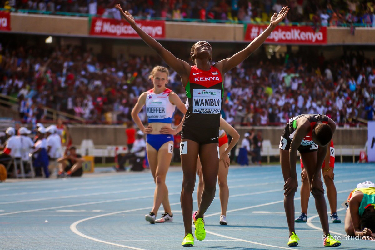 Curtains come down on IAAF World U18 championships in Nairobi as Kenya finishes position 4.