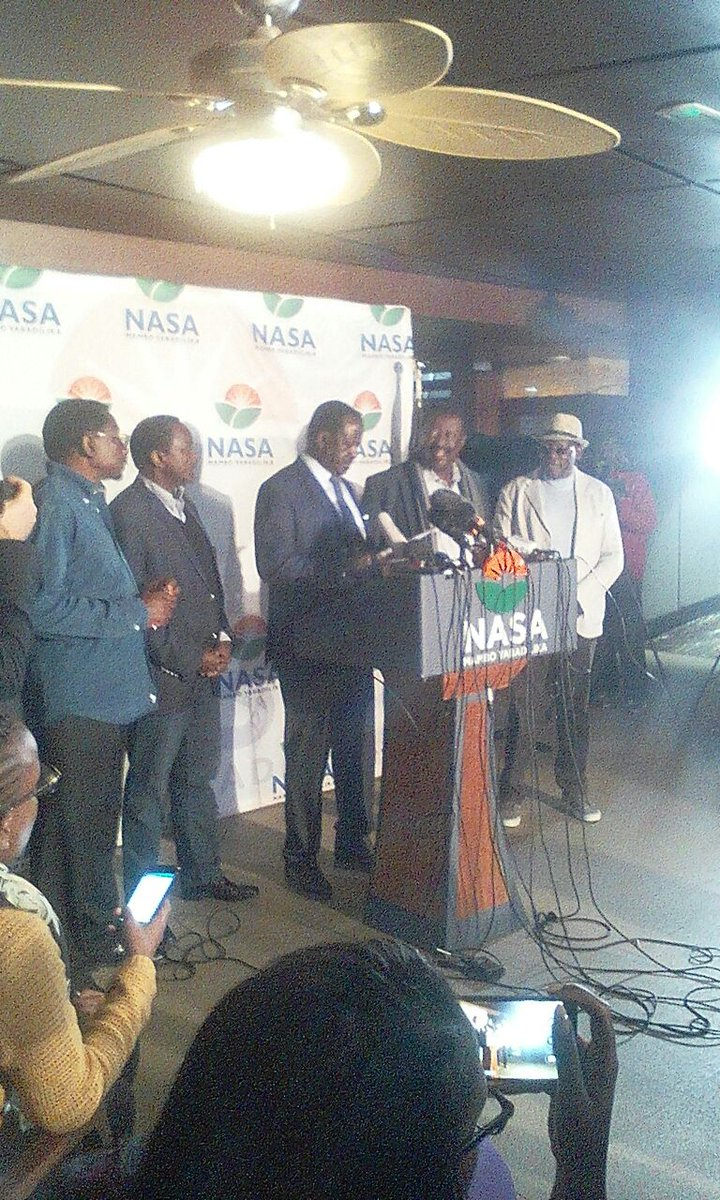 Hackers infiltrated IEBC server to manipulate results-Odinga