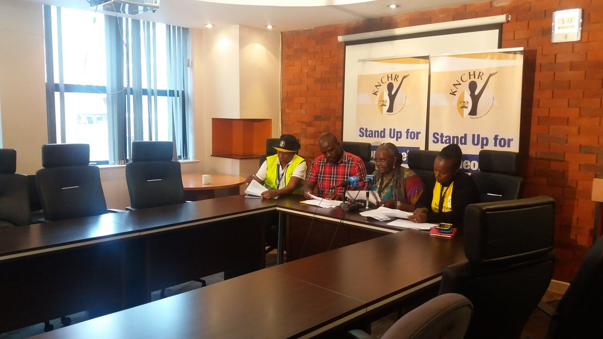 KNHRC raises concerns on use of excessive force on civilians