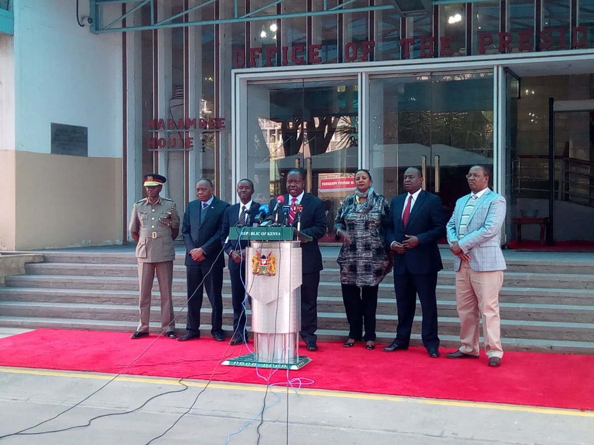 Government will begin deportation of immigrants living in the country illegally-CS Matiangi
