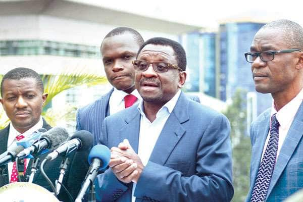 Rejoinder filed by IEBC in response to NASA petition not genuine -Orengo