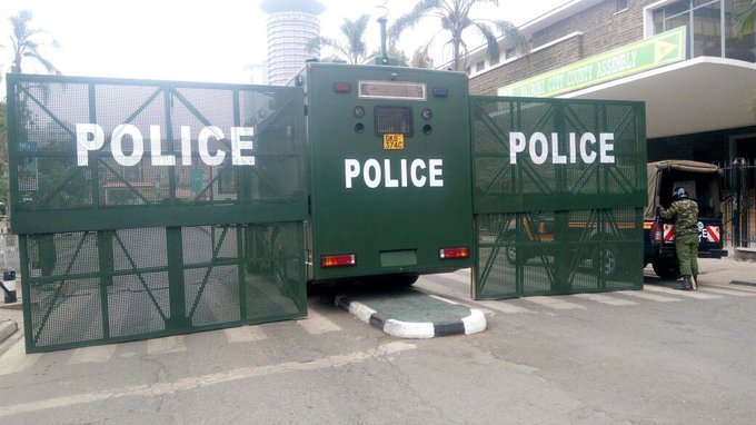 Security heightened  around supreme  court a head of presidential petition pre-trial conference