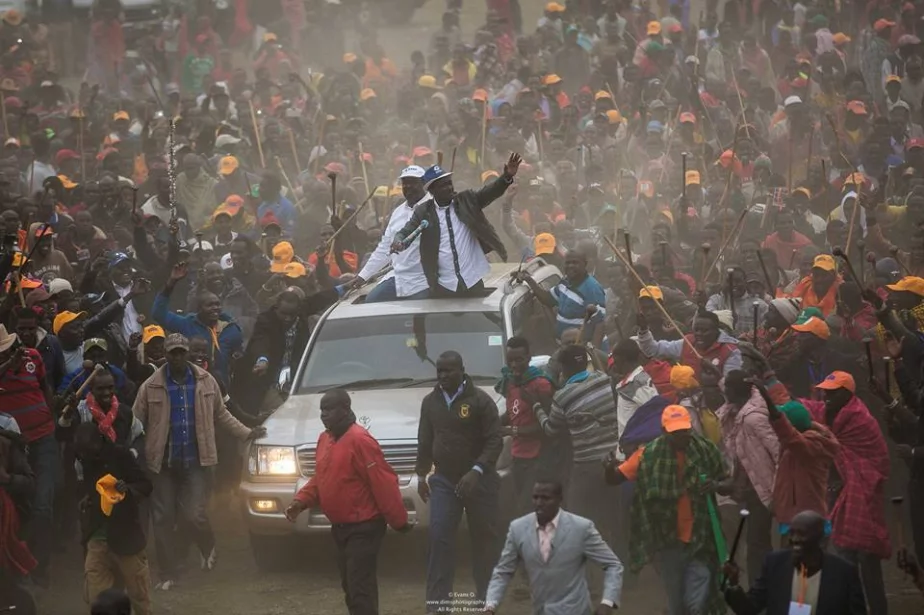 Odinga receives a major boost from Maasai community  a head of polls