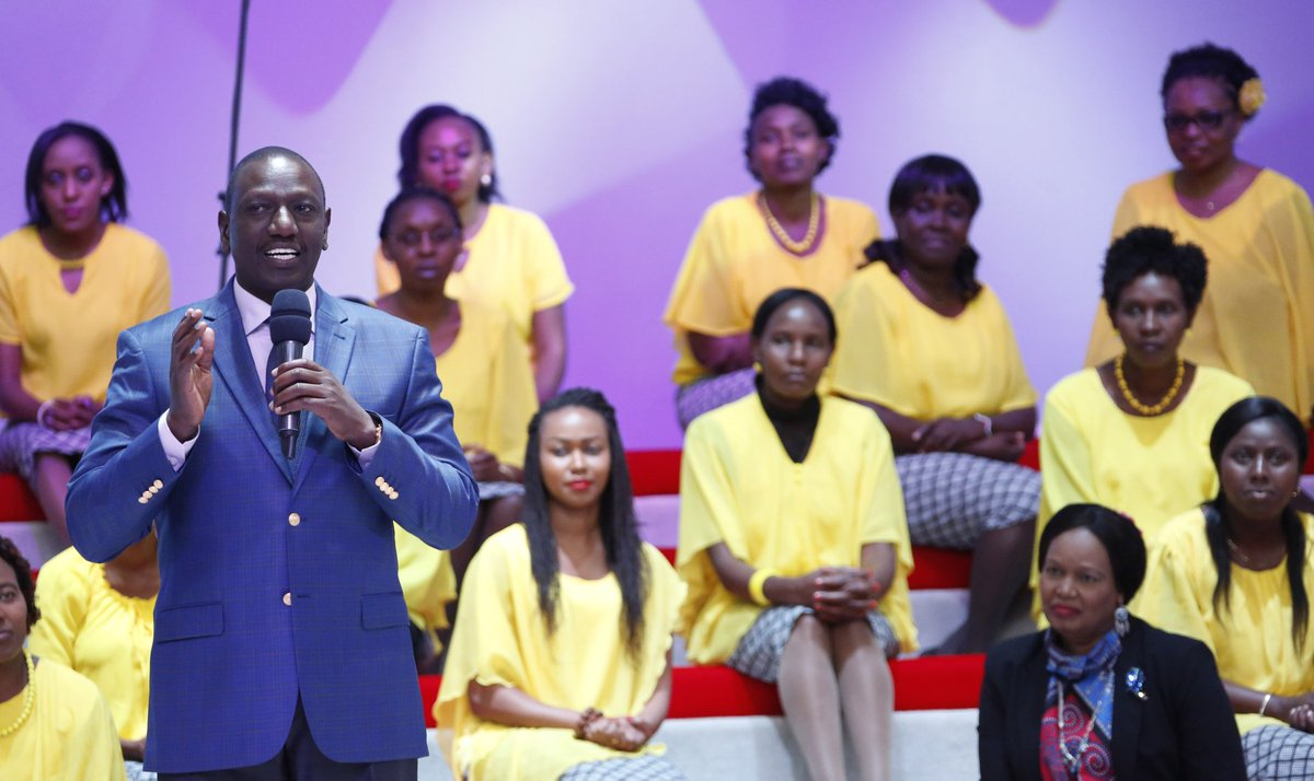 Let us all strife for peace,DP Ruto urges