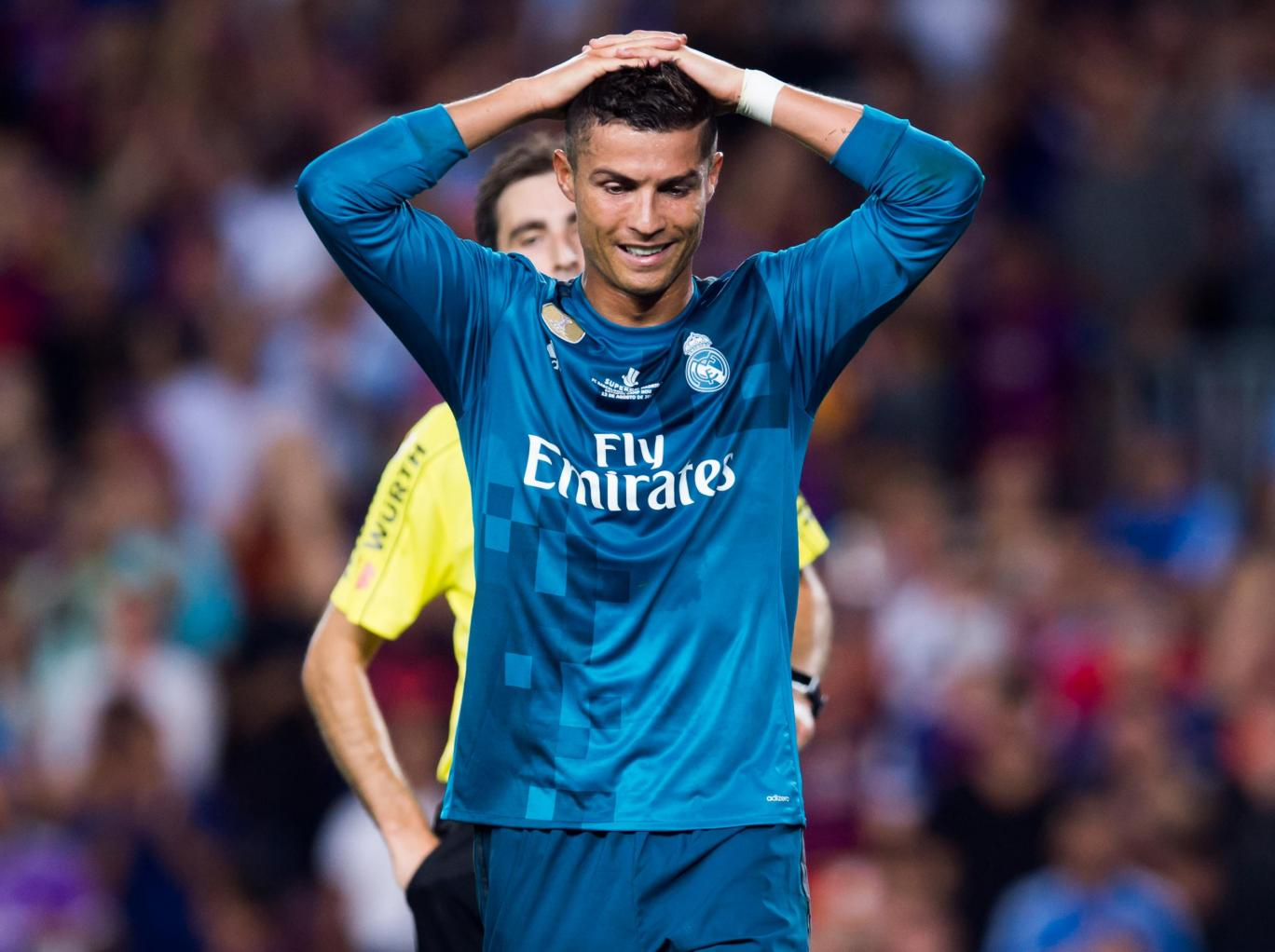 could angry Christiano Ronaldo  be on his way  to quit Real Madrid ?